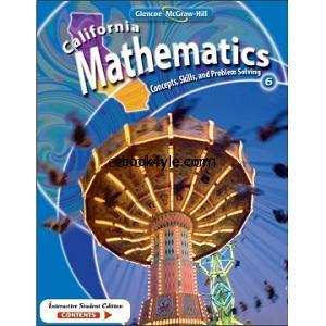 California Mathematics Concepts Skills and Problem Solving Grade 6