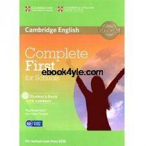 Cambridge English Complete First for Schools Student Book w Answers