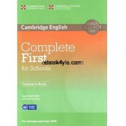 Cambridge English Complete First for Schools Teacher Book