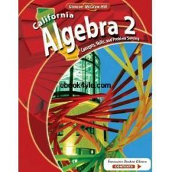 California Algebra 2 Concepts, Skills, and Problem Solving – Middle School