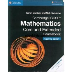 Cambridge IGCSE Mathematics Core and Extended Coursebook Part 1