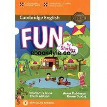 Cambridge Fun for Starters 3rd Edition Student Book