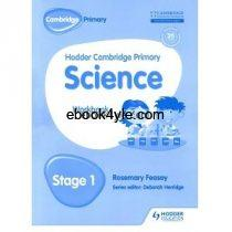 Hodder Cambridge Primary Science Stage 1 Workbook