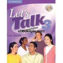 Let's Talk 3 Second Edition