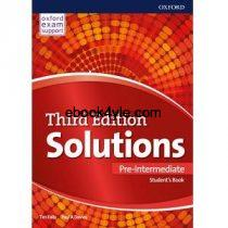 Solutions 3rd Edition Pre-Intermediate Student's Book