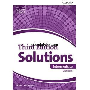 Solutions 3rd Edition Intermediate Workbook with key