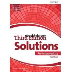 Solutions 3rd Edition Pre-Intermediate Workbook with key