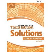 Solutions 3rd Edition Upper-Intermediate Workbook with key