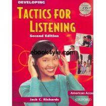 Tactics for Listening 2nd Edition Developing