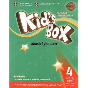 Kid's Box Updated 2nd Edition 4 Activity Book