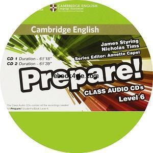 Prepare! 6 Class Audio CD