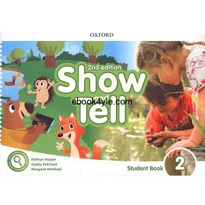 Show and Tell 2 Student Book 2nd Edition
