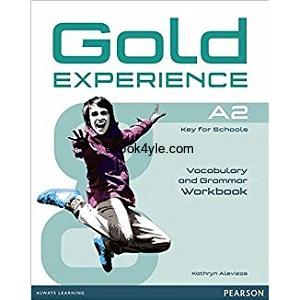 Gold Experience A2 Vocabulary & Grammar Workbook