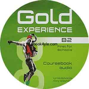 Gold Experience B2 First for Schools Audio CD