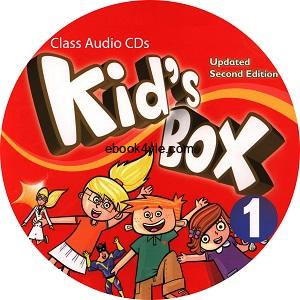 Kid's Box Updated 2nd Edition 1 Class Audio CD