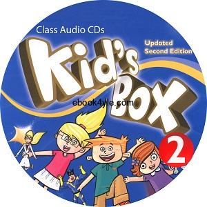 Kid's Box Updated 2nd Edition 2 Class Audio CD