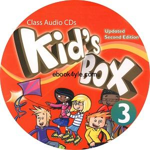 Kid's Box Updated 2nd Edition 3 Class Audio CD