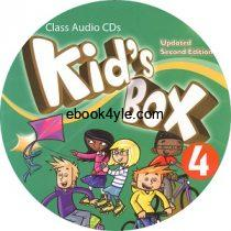 Kid's Box Updated 2nd Edition 4 Class Audio CD 2