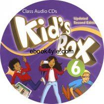 Kid's Box Updated 2nd Edition 6 Class Audio CD 1