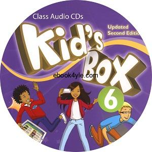 Kid's Box Updated 2nd Edition 6 Class Audio CD
