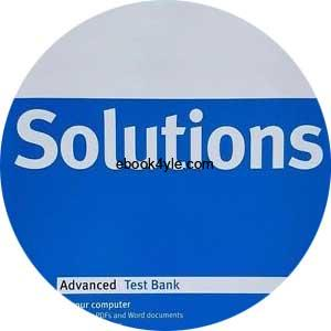 Solutions Advanced Test Bank CD