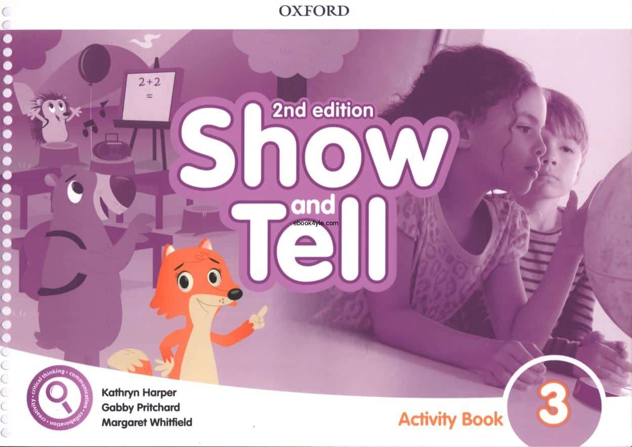 Show and Tell 3 Activity Book 2nd Edition
